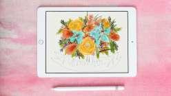 Doodling on an iPad
