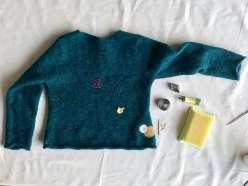 Sweater Mending: 3/9/17