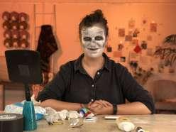 Spooky Ghoul Makeup: 10/18/18