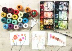 Collaborative Mixed Media: 7/18/19