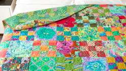 Rosy Quilt Top