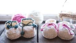 Beginner Knits: How to Knit Baby Booties