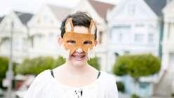 DIY Fox Mask