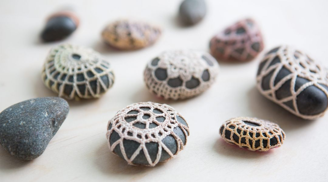 Crocheted Stones