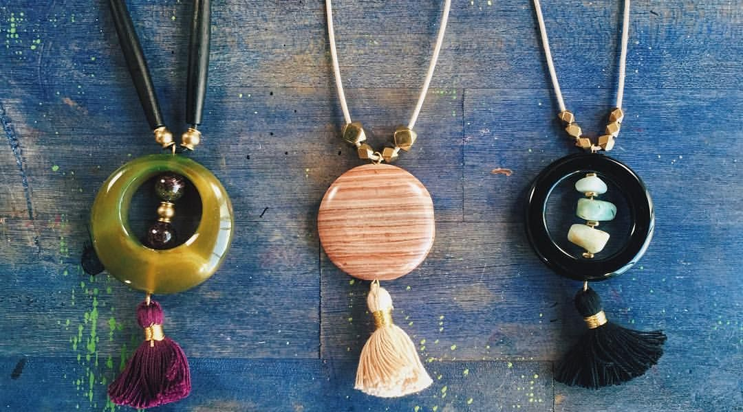 DIY Pendant Necklaces: 8/11/16