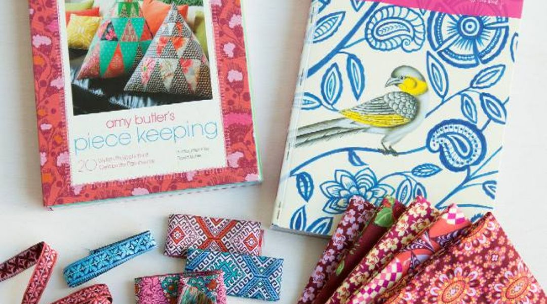 Crafting with Amy Butler Fat Quarters: 8/30/16