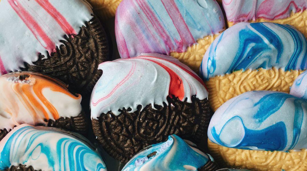 Marbled Oreo Cookies: 9/8/16