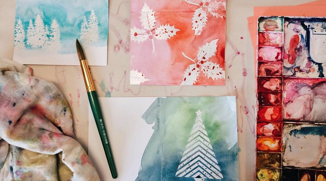 Embossed Holiday Cards: 11/3/16
