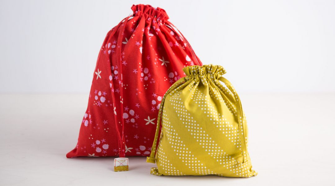 Sewing Drawstring Bags