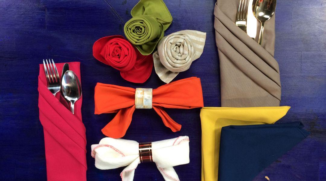 Creative Napkin Folding: 12/22/16