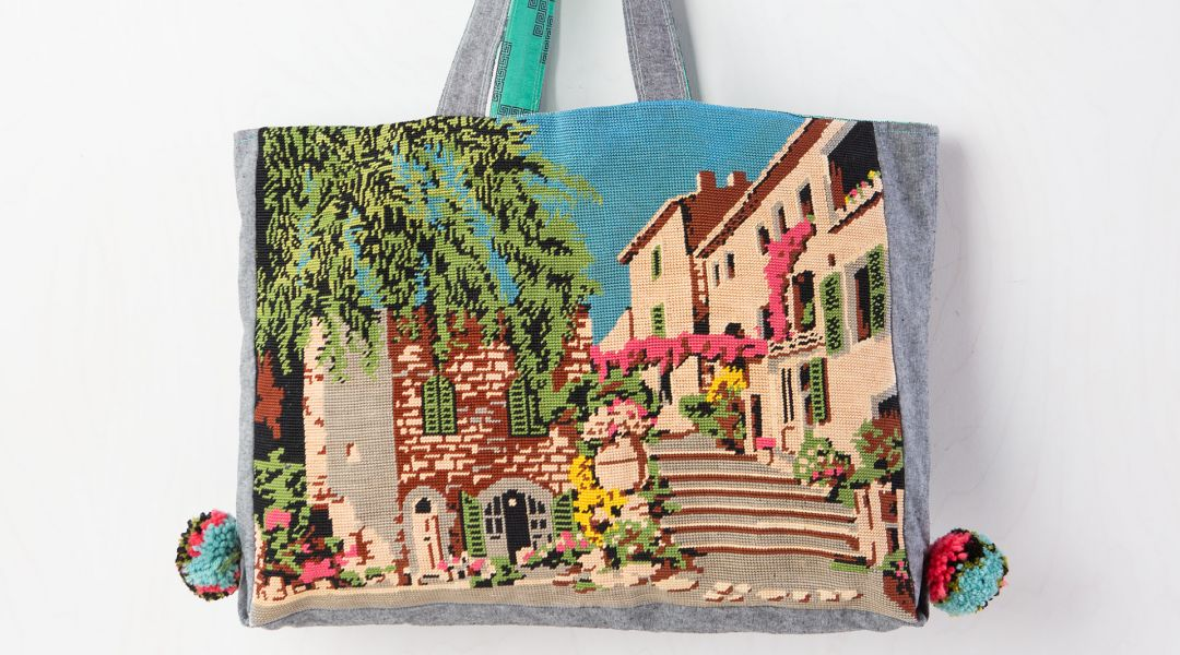 Sew a Needlepoint Tote