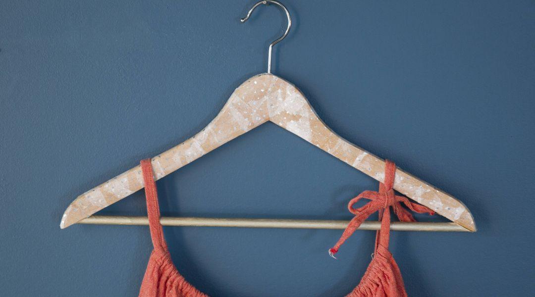 Decoupaged Hanger: 9/19/17