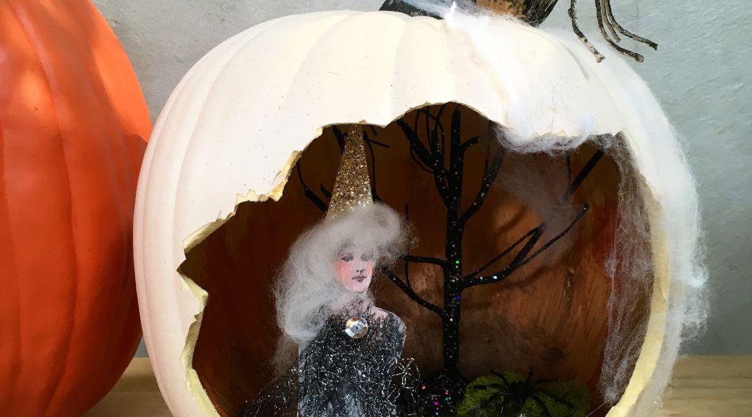 Pumpkin Diorama: 10/12/17