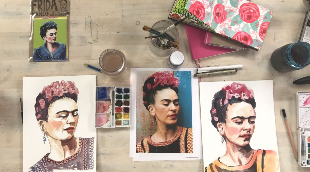 Live Portrait Painting: 3/29/18