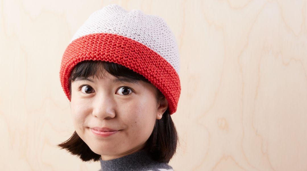 Easiest Garter Stitch Hat