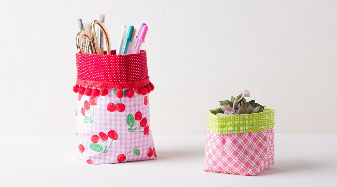 Sew a Fabric Basket