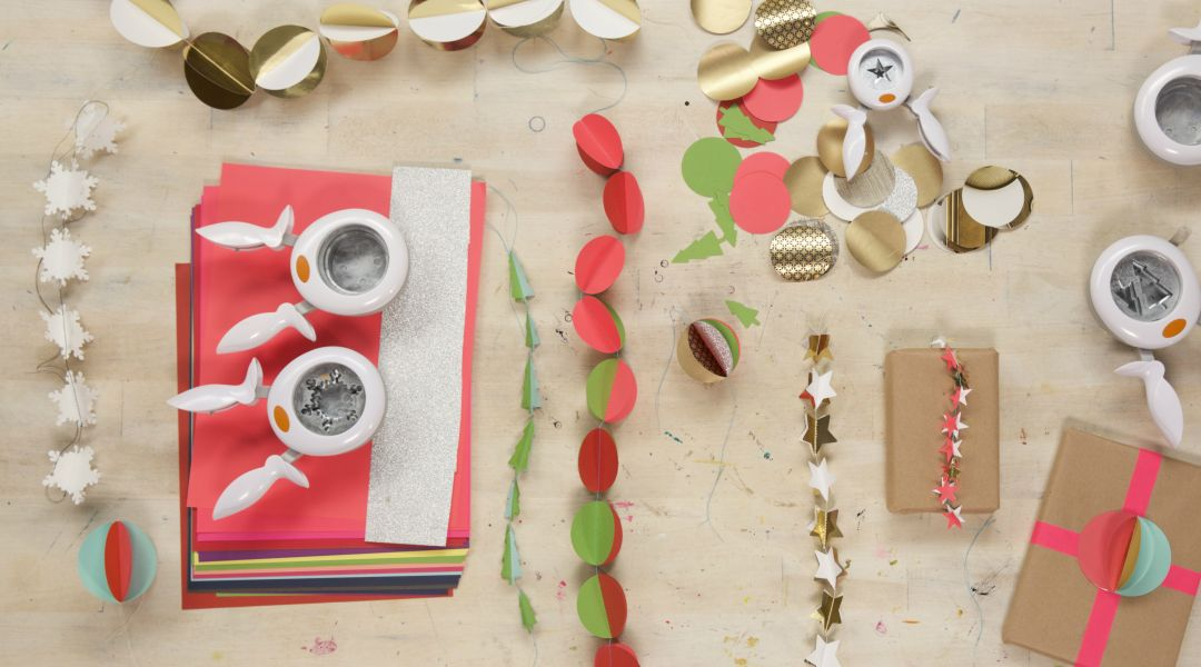 Punched Paper Garlands: 11/20/18
