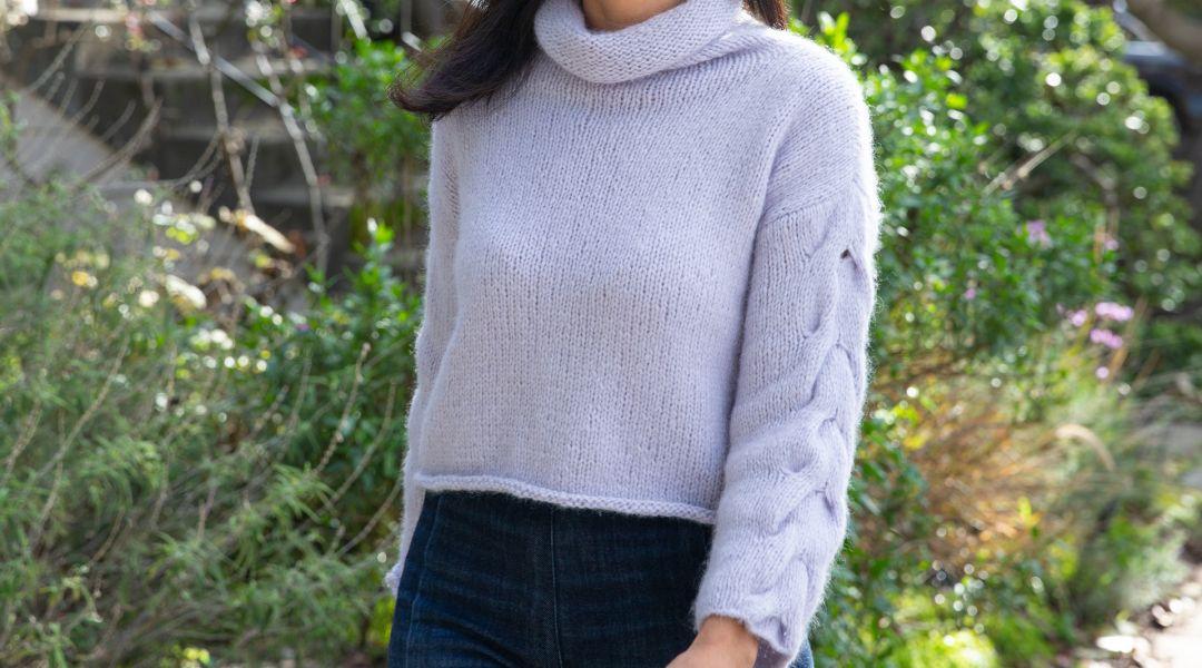 Knit the Lady Soul Sweater