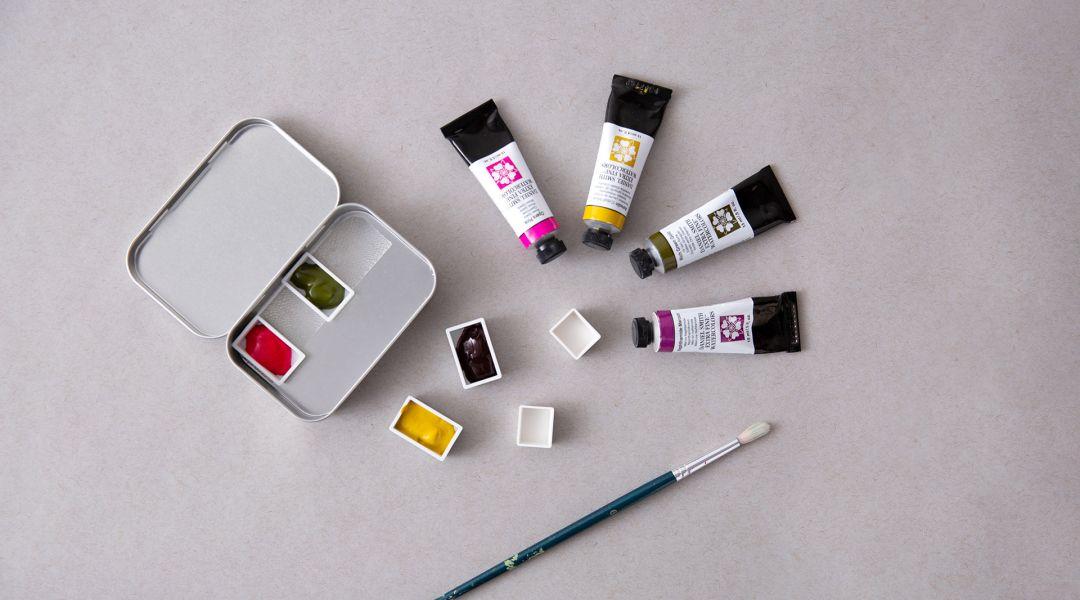 Watercolor Travel Palette: 4/25/19