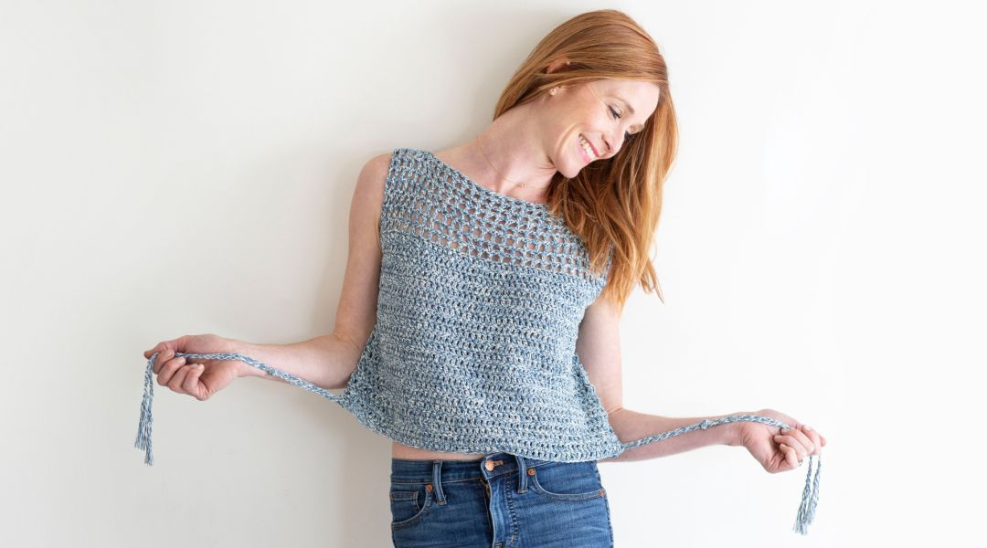 Crochet The Calvin Tank