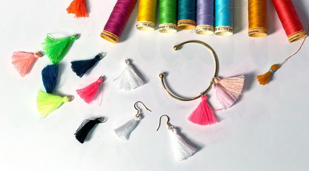 Tassel Jewelry: 6/20/19