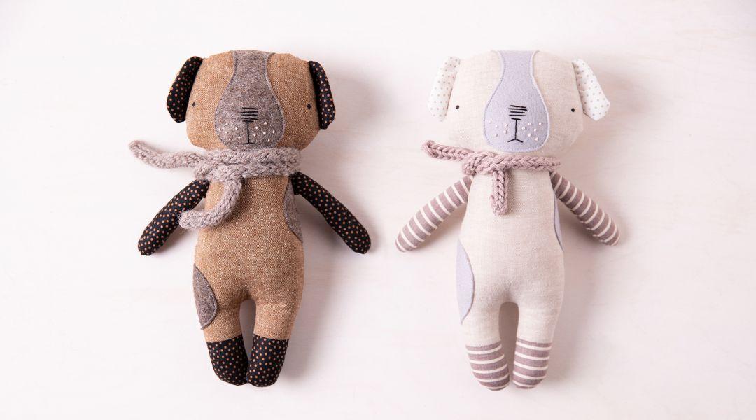 Sew a Luckyjuju Puppy Doll