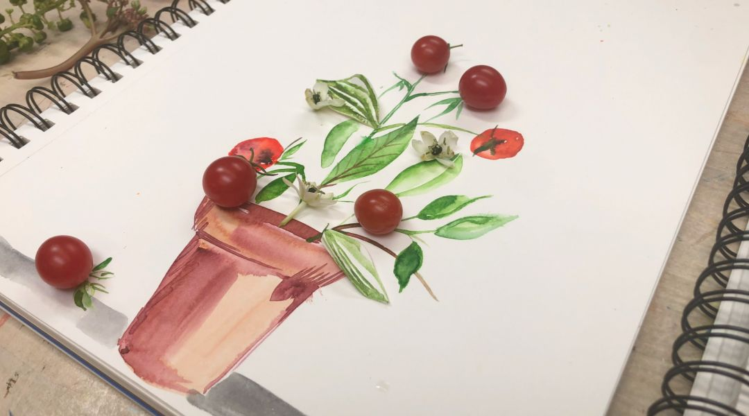 Watercolor Fragments with Kristy Rice: 8/15/19