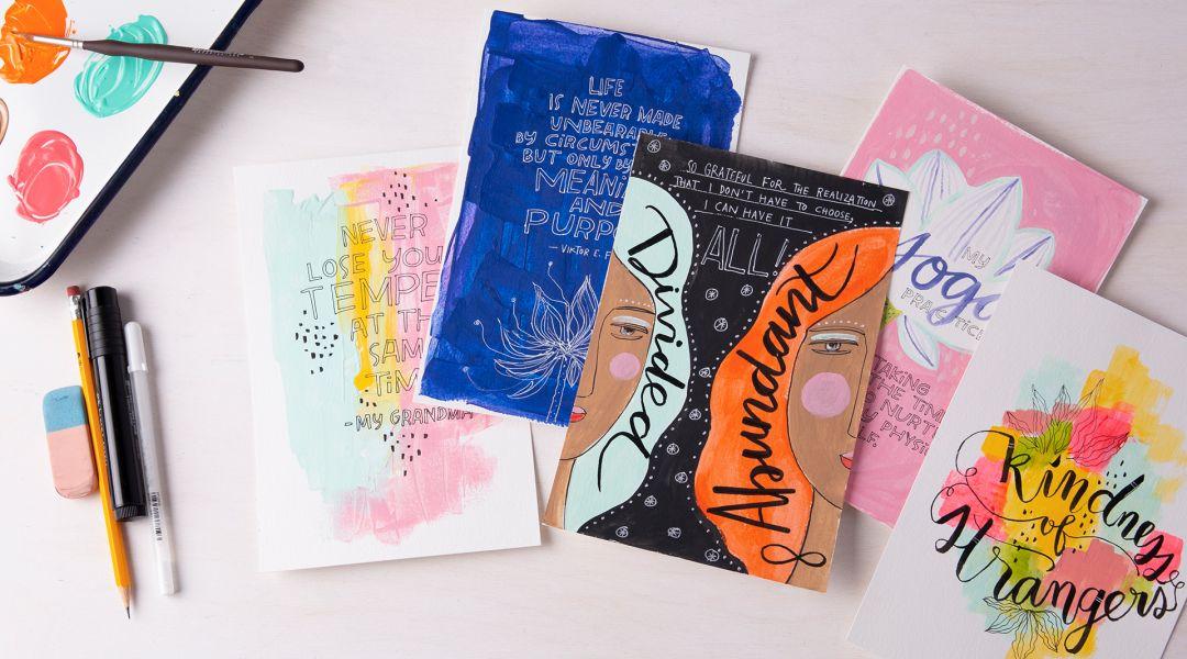 Gratitude Art Journal: A Daily Practice