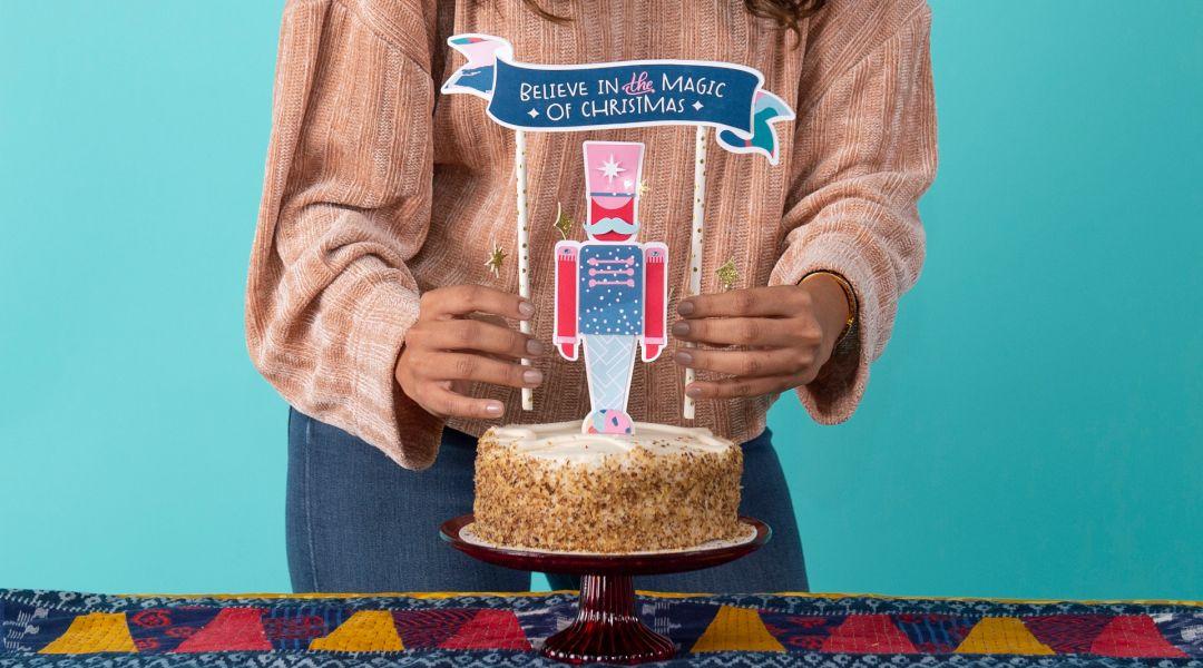 Cricut Crafts: Nutcracker Cake Topper
