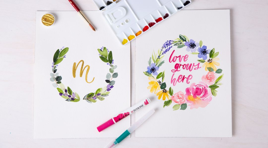 Watercolor Lettering - A Daily Practice