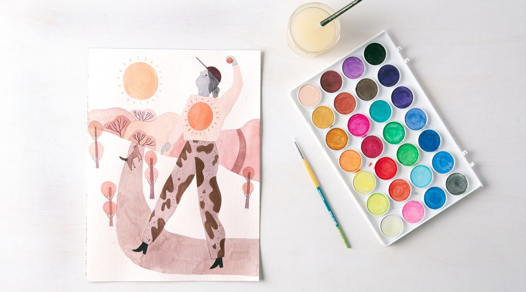 From Sketchbook to Painting: Developing Your Ideas in Watercolor
