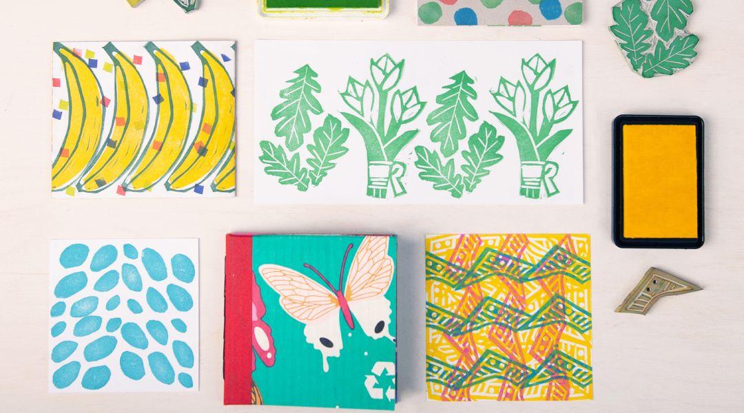 Stamps! Prints! Books!