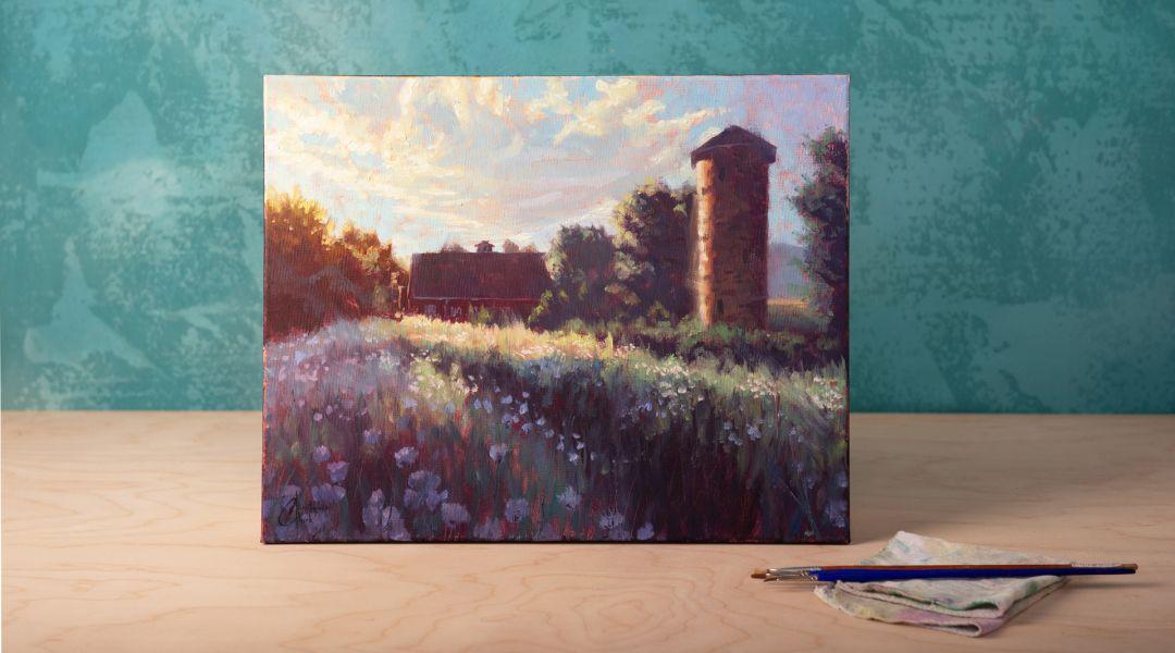 Paint a Landscape in Oils