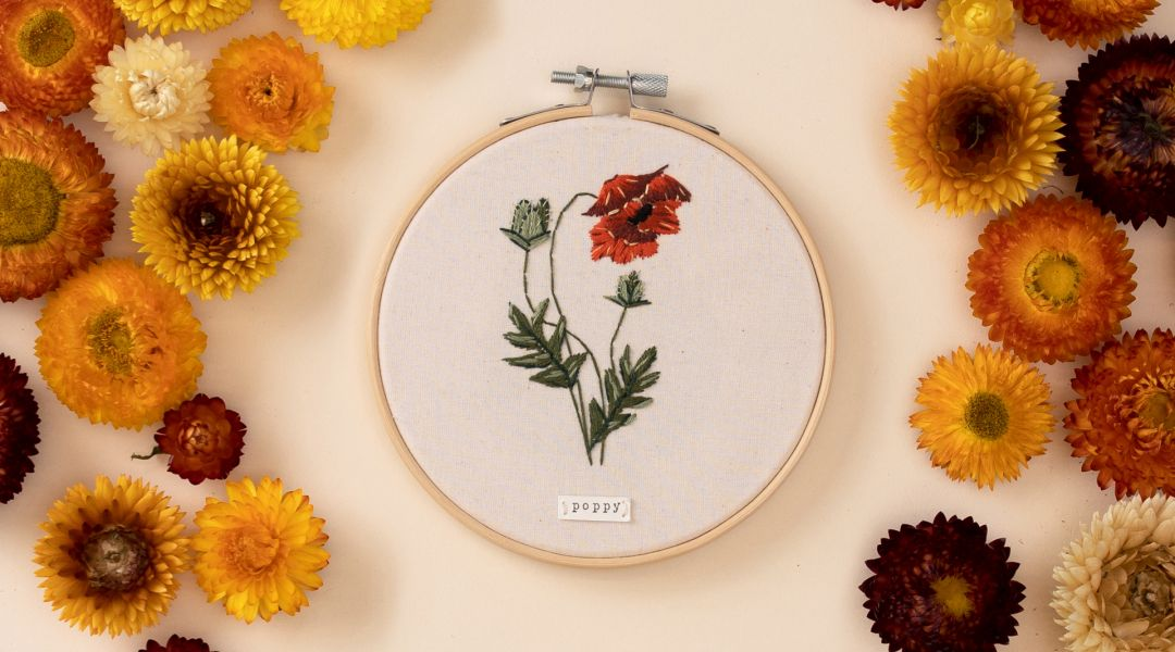Thread Painting: Embroider Spring Blooms