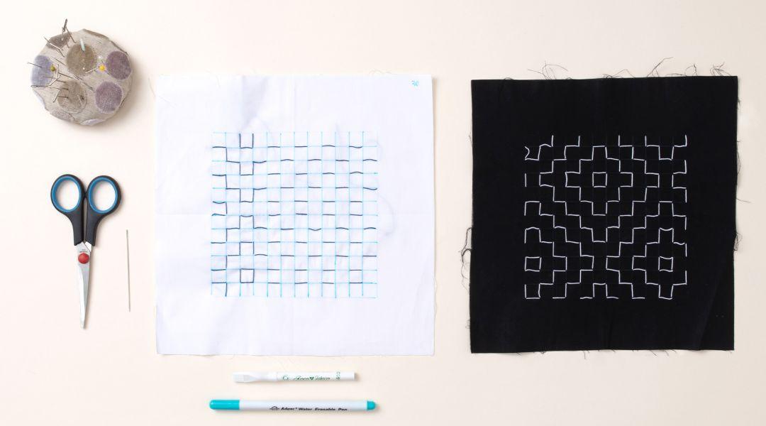 Japanese Sashiko: A Daily Decorative Stitching Practice