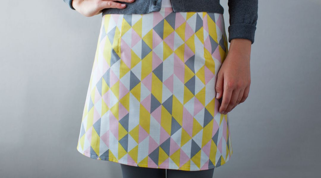 Sewing an A-Line Skirt