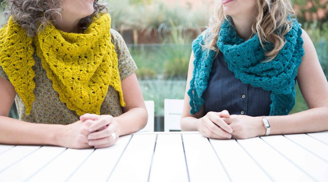 Knit the Imposter's Shawl