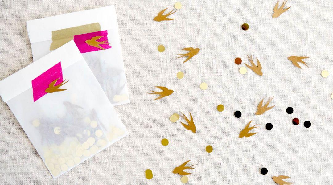 Cricut Crafts: Make Celebration Confetti