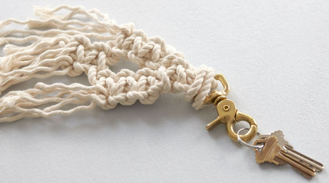 Make a Macramé Key Chain