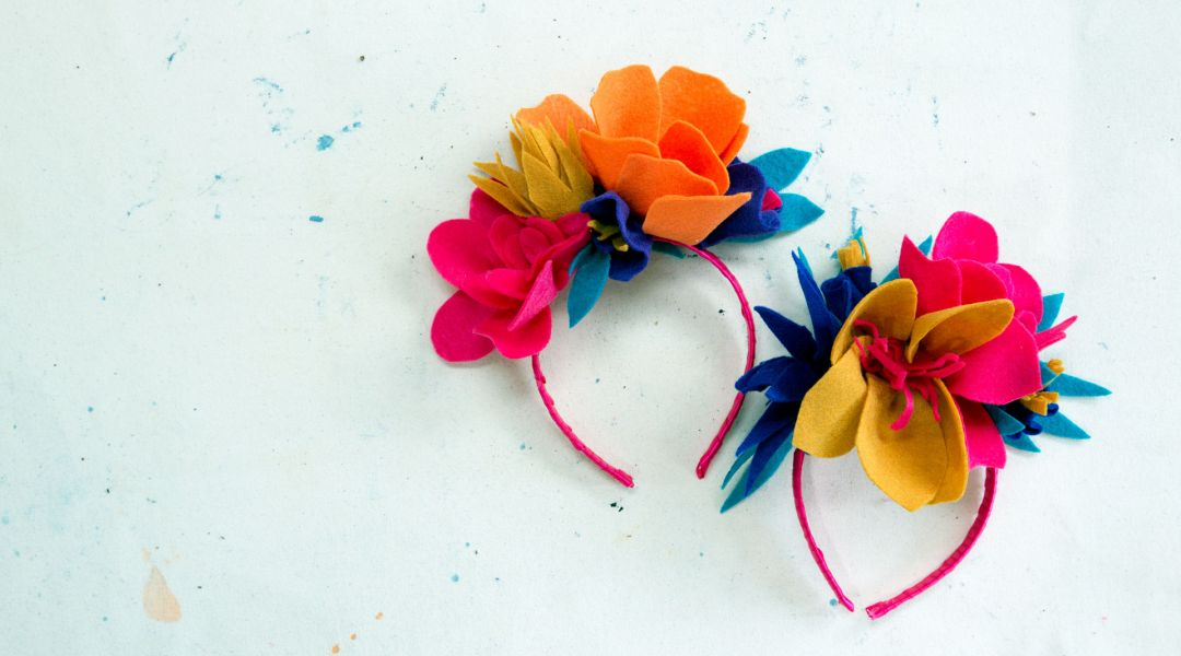 Frida Kahlo Inspired Headband