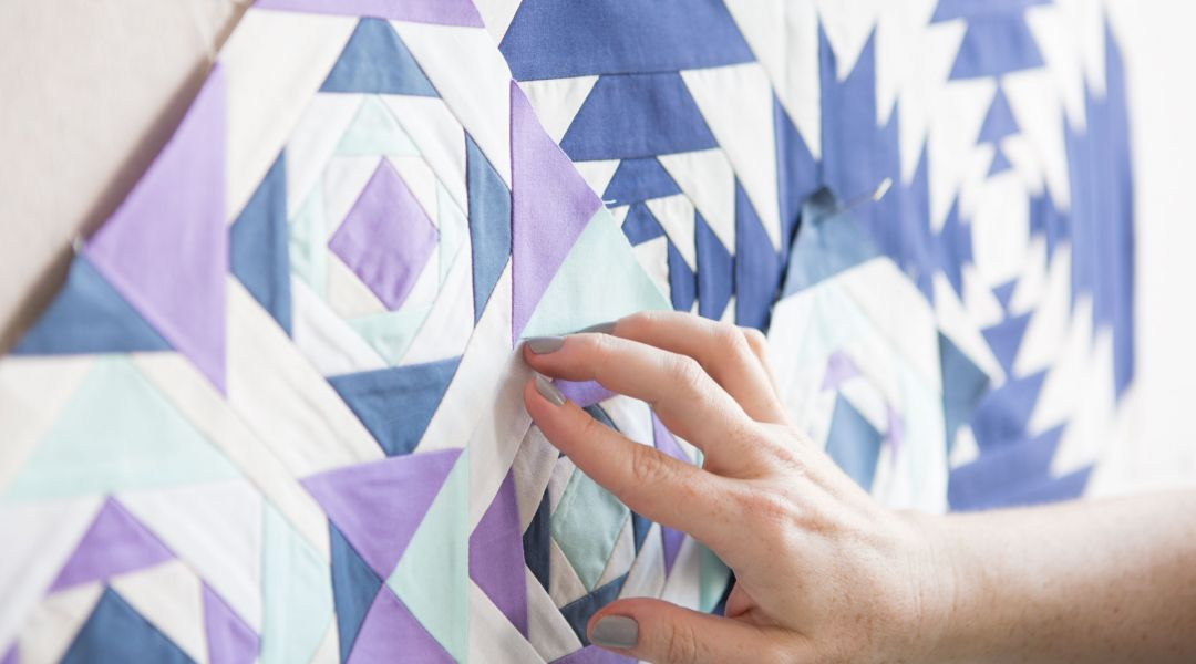 Improvisational Patchwork: Pineapple Quilt Blocks