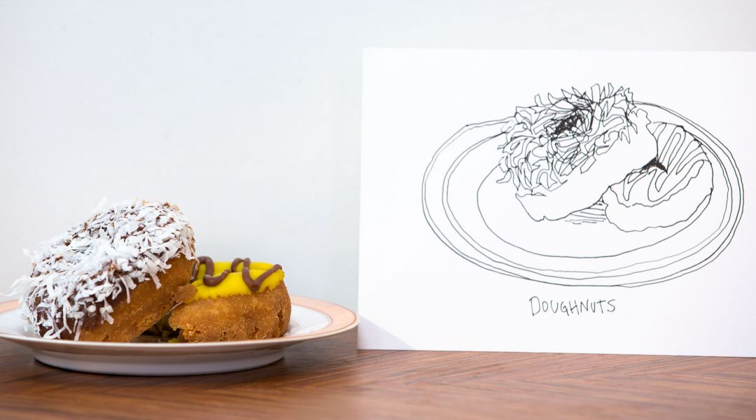 How to Draw Donuts