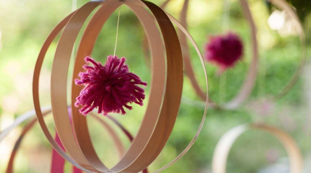Wood Veneer Globes