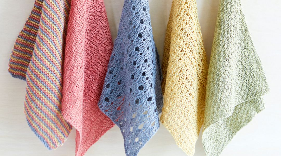 How to Knit Dishcloths