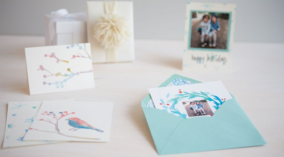 How to Make Watercolor Cards