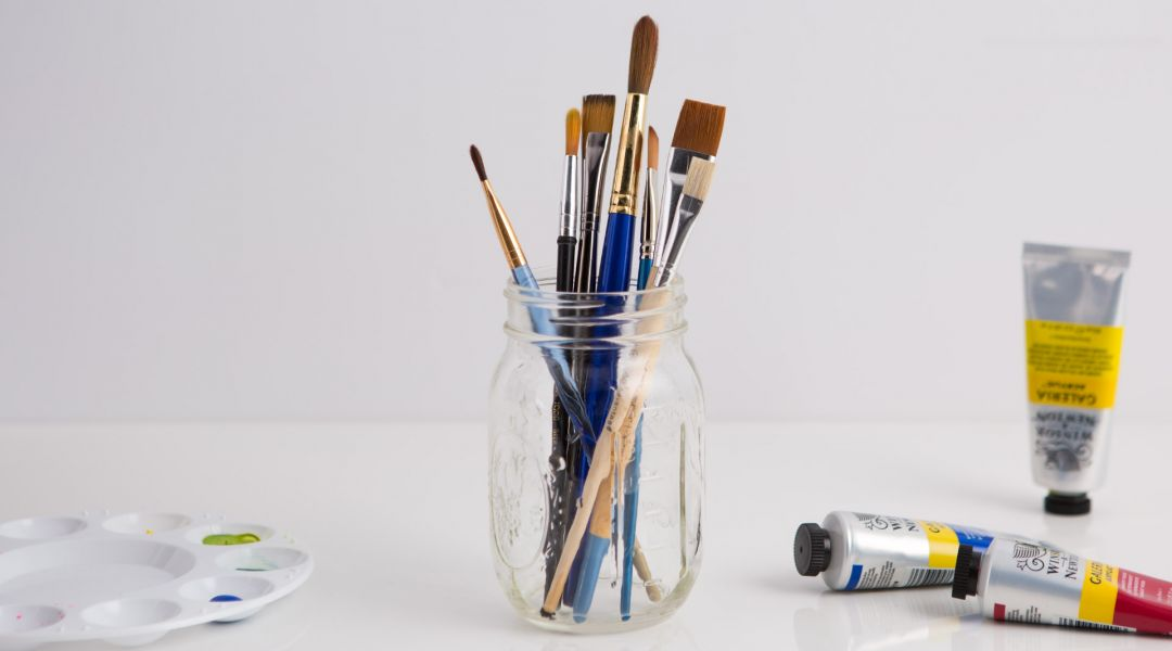 Acrylic Painting: How to Clean Paintbrushes