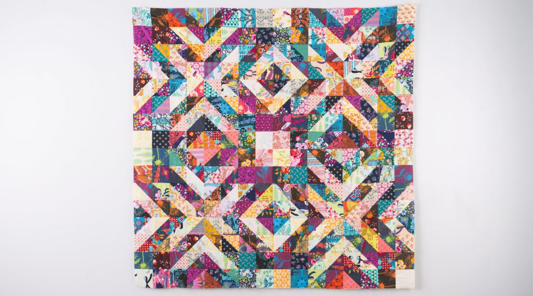 Three-Part Harmony Quilt