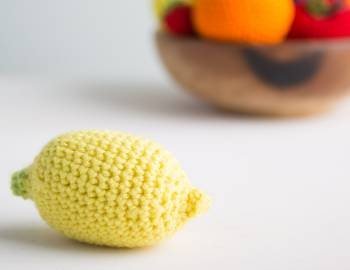 Crocheted Lemon