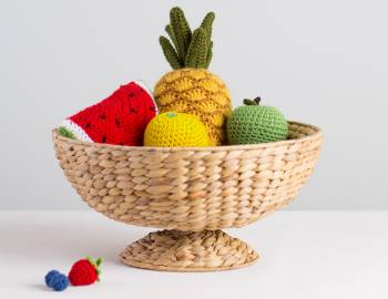Eat Your Fruits & Veggies Crochet-Along