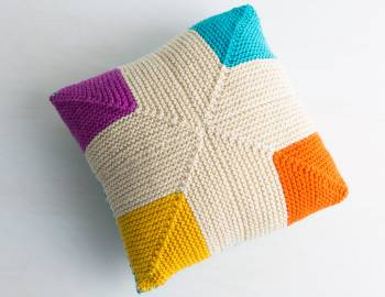 Mitered Knitting: Make a Pillow